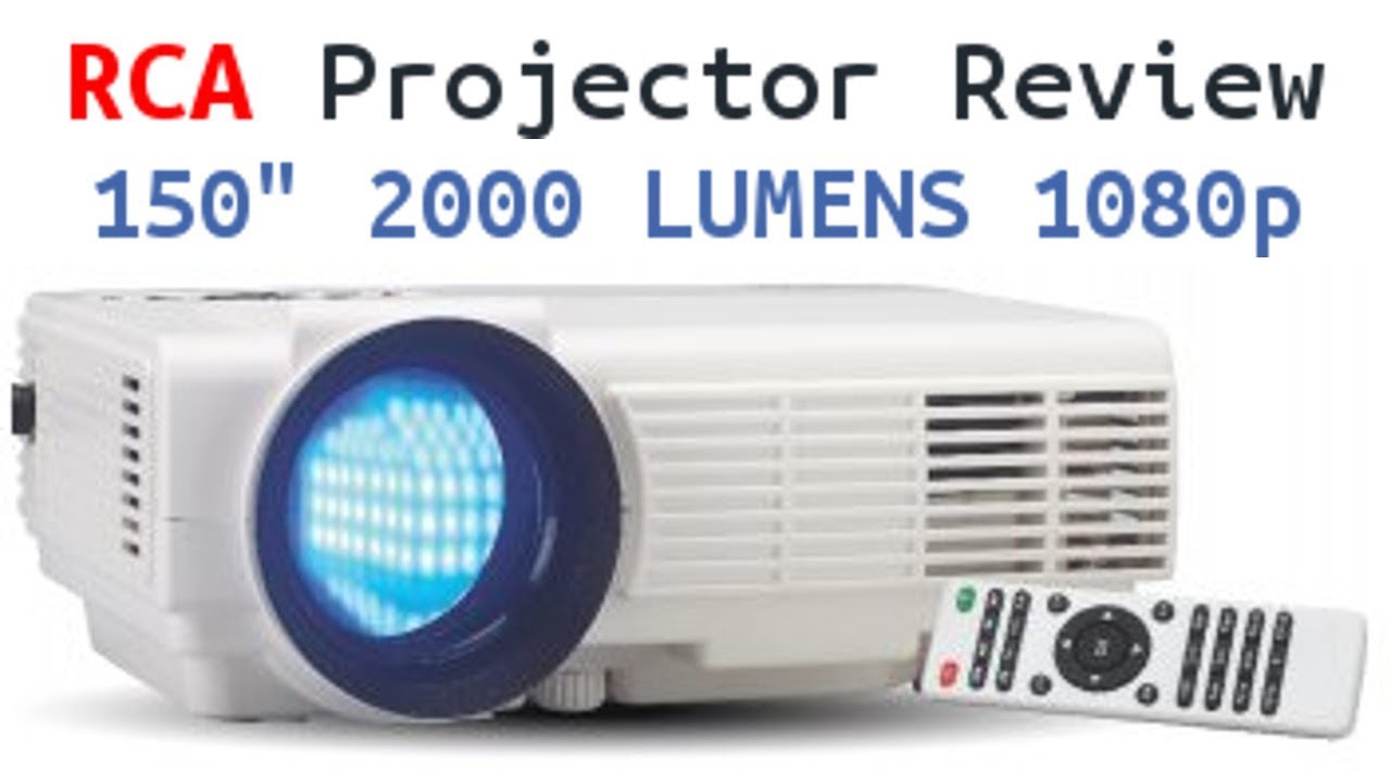 RCA Home Theater Projector Review - 150