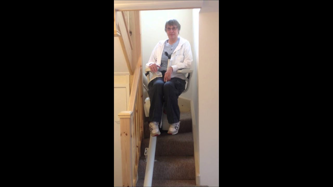 A2b Stairlifts Thyssen Flow2 Stairlift Demo Youtube