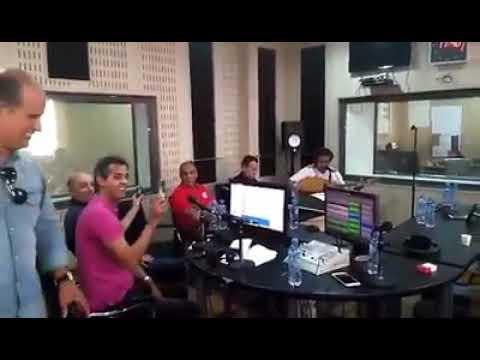 c est la fete a la radio el bahdja coupe d algerie crb