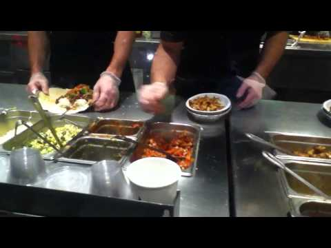 Steak Burrito and Burrito Bowls being made at Chipotle Mexican Grill – AaronTheEagle1 Video
