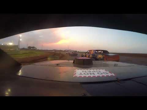 enid speedway heat 8-11-18. - dirt track racing video image