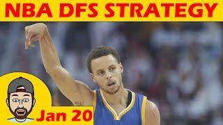 NBA DFS Projections & Strategy | Saturday 1/20 | FanDuel & DraftKings