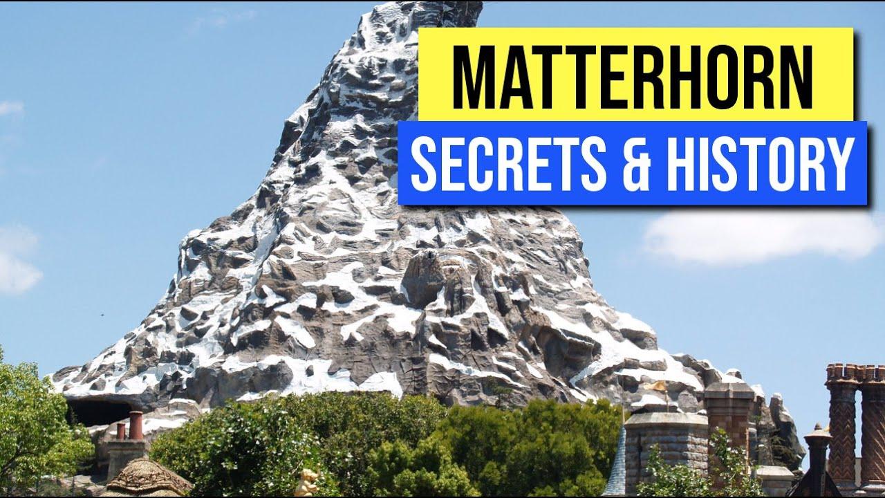 Disneyland Secrets And History Of The Matterhorn Youtube