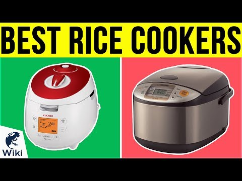 10 Best Rice Cookers 2019