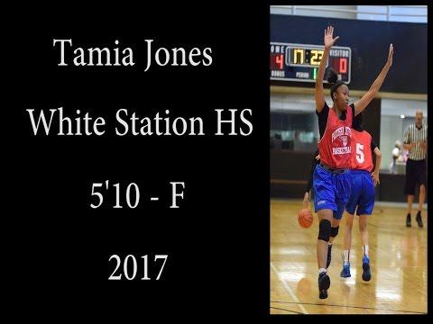 Tamia Jones - White Station - 5'10 - F - 2017