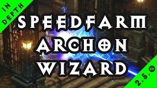 diablo 3 season 10 2 5 speedfarming lightning archon wizard t13 gr100