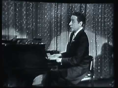Harold Arlen sing a medley of his hits 1954
