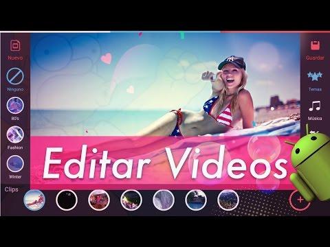 TOP 6 Mejores Editores de Vídeo en ANDROID   GRATIS 2017 + Pantillas & Efectos
