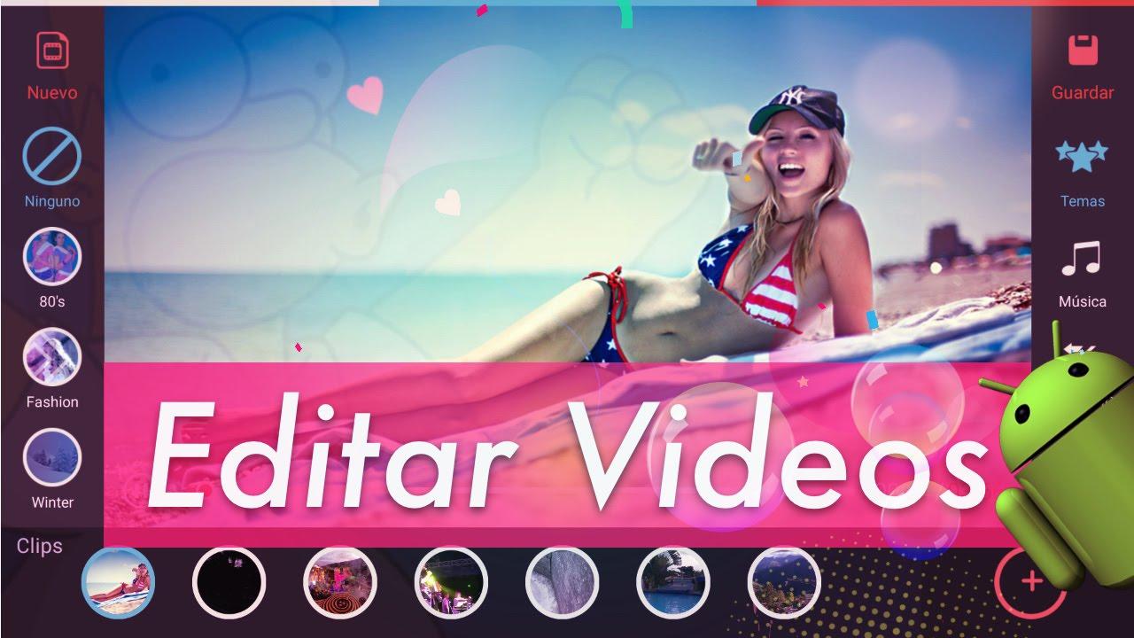 Top 6 mejores editores de v deo en android gratis 2017 for Editor de fotos efectos