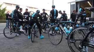 Team Sky and KASK at Mallorca Training Camp 1
