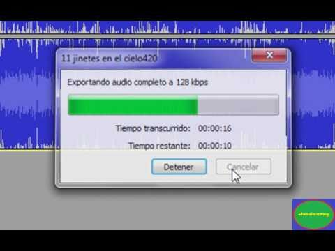 Tutorial - Lame Mp3 para Audacity (Loq) 2017