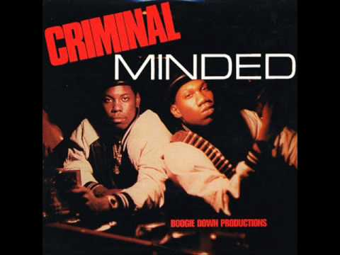 Boogie Down Productions- Criminal Minded