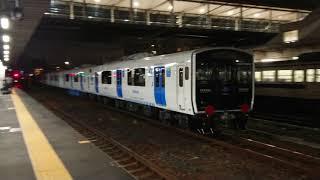 【4K】819系300番台(ZG301・ZG302)甲種輸送 門司駅にて