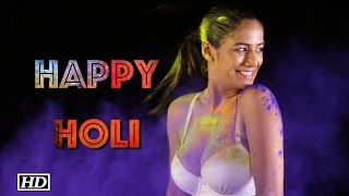 Poonam Pandey wishes HOLI with a video, watch here