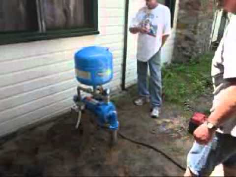Cottage Pump Instructions Youtube