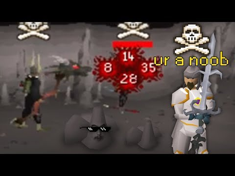 Baiting Clans at Rev Caves (ROCK PKING)