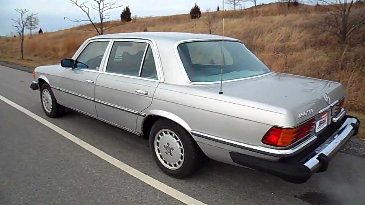 1978 Mercedes Benz 450 Sel American Muscle Cars Palatine Il You