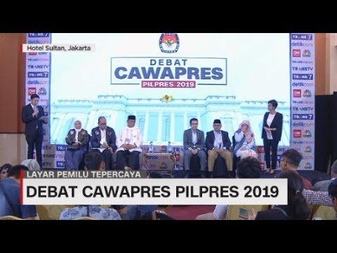 Konferensi Pers Kubu TKN & BPN Pasca Debat Cawapres