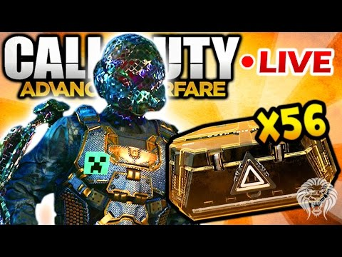 ADVANCED SUPPLY DROP OPENING! Legendary Gear Hunt & New Elite Armor - 56 Supply Drops Opened Live