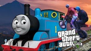 A TRAIN ADVENTURE - GTA 5