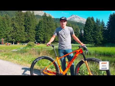 Fini's American Eagle bike setup UCI Worldcup Lenzerheide Switzerland