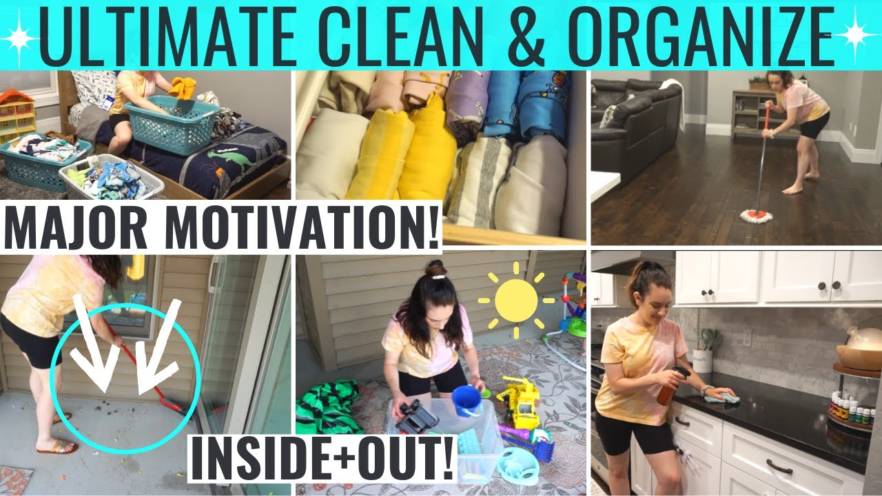 2020 ULTIMATE CLEAN WITH ME | DECLUTTER + ORGANIZE | EXTREME CLEANING MOTIVATION