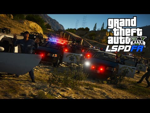 GTA 5: LSPDFR - Day 181 - Felony Stop