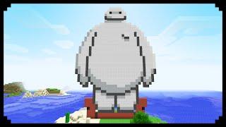 ✔ Minecraft: Pixel Art Friday (Baymax)