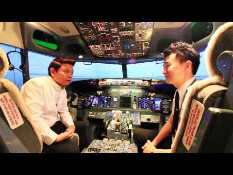 รายการโลกใบใหม่ EP 71 ตอน Flight Experience Bangkok + เรือ ณ เบญจรงค์ 2/4