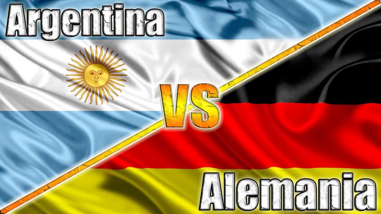 Argentina Vs Alemania Final Mundial 2014 Youtube