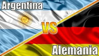ARGENTINA VS ALEMANIA - Final Mundial 2014