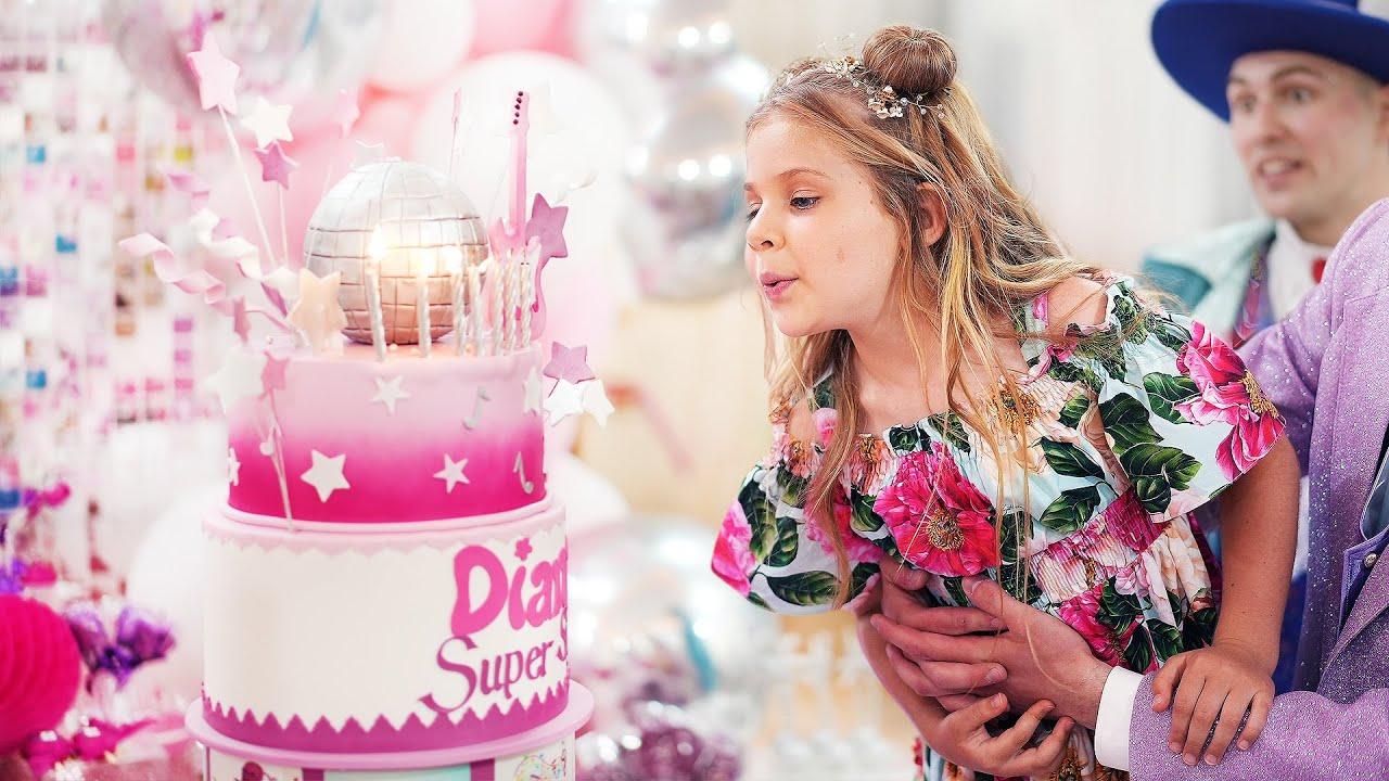 डायना की 7 वीं बर्थडे पार्टी! जन्मदिन मुबारक हो डायना!