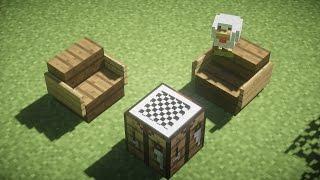 【Minecraft Detail: Chessboard Decoration!】