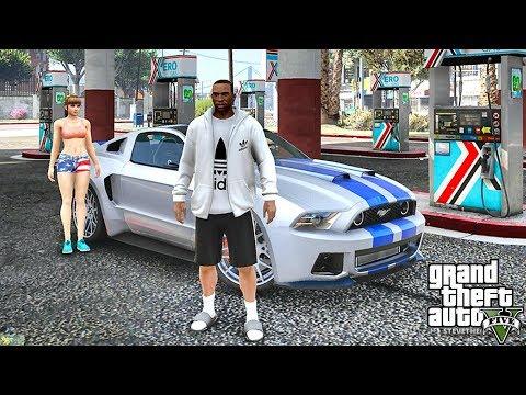 GTA 5 REAL LIFE CJ MOD #41 - SHE'S THE ONE!!!(GTA 5 REAL LIFE MODS/ THUG LIFE)