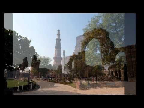 インド・デリーの世界遺産と街並み