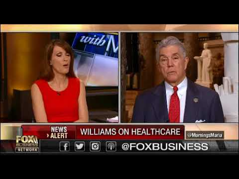 Rep. Williams Joins FBN's Mornings with Maria to Talk Immigration, the Economy, China, and NAFTA