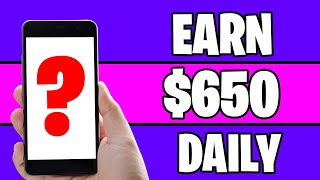 Make $650 PER DAY For FREE *New Website* [Make Money Online]
