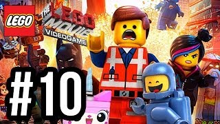 The LEGO Movie Videogame Walkthrough PART 10 - SWIM FASTER!! (PS4 XBOX ONE WiiU PC Gameplay 1080p)