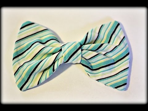 Repurpose An Old Shirt Into A Bow (A Twisted Quickie)