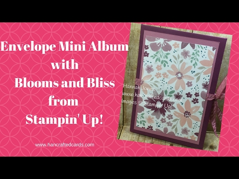 How to make an envelope mini album with Stampin' Up! 😃