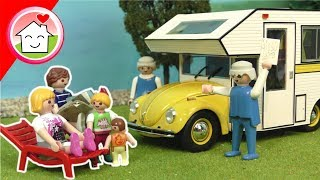 Playmobil Film deutsch - Camping mit den Hinterwäldlers - Familie Hauser Video für Kinder