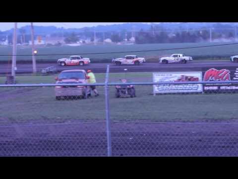 2016-07-31 IMCA Hobby Stock Feature at Benton County Speedway
