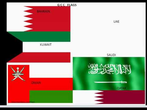 GCC Country Flags And Telephone Code Capital &Currency
