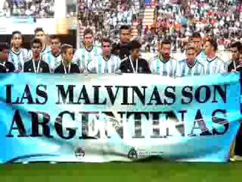 The falkland are Argentina [Las Malvinas son ARG