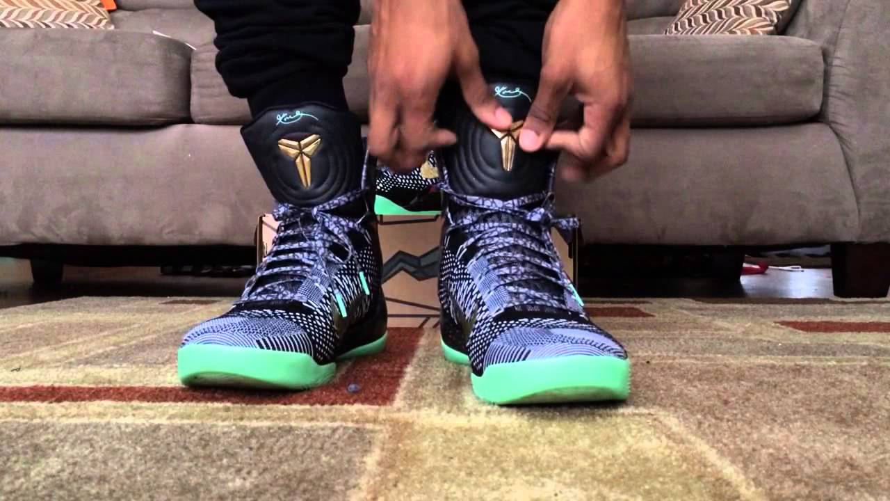 new arrival 1908f 54667 Nike Kobe Elite 9 Nola All Star Devotion (On Feet Review) - YouTube