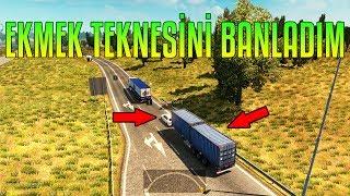ADAMIN EKMEK TEKNESİNİ BANLADIM!!! | Adminlik #111 | ETS2MP