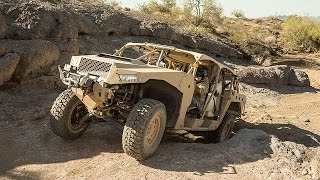 Polaris Defense launch the DAGOR Ultra-Light Combat Vehicle at AUSA 2014