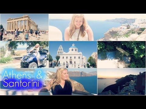 Travel Vlog // Athens & Santorini Greece 2016