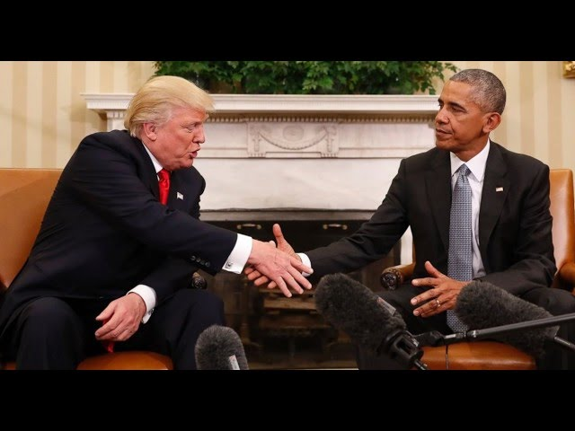 Trump Meets Obama at White House for First Time   Full Special Report