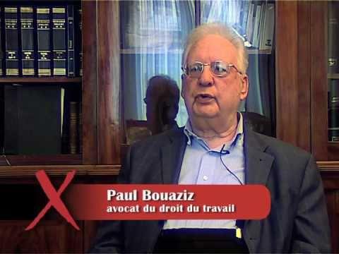Souffrance et Travail | Paul Bouaziz (1/13): l'importance du droit social pour un salarié